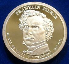 2010-S San Francisco Mint Presidential Dollar Franklin Pierce Proof