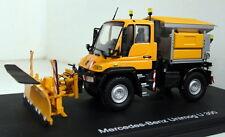 Schuco 1/43 Scale 04643 Mercedes Unimog U 300 Winterdienst diecast model truck