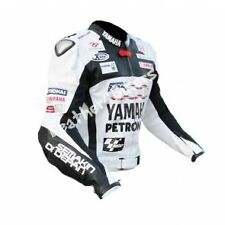 YAMAHA PETRONAS Motorbike Leather Jacket MOTO GP Motorcycle Mens Leather Jackets