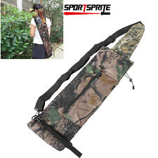 Outdoor Hunting Arrows Pouch Camo Archery Bow Shooting Arrow Quiver Bag
