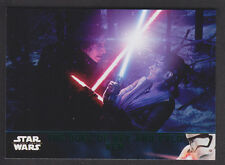 Topps Star Wars - The Force Awakens Series 2 - Green Parallel Card # 92