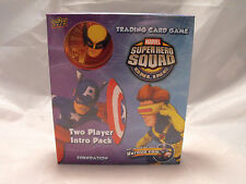 MARVEL SUPERHERO SQUAD TWO PLAYER INTRO PACK/STARTER DECK