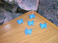 (sk1/26) 5 x pañuelo cuello azul claro ACW garde soldados Western