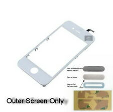 iPHONE 4s 4gs SCREEN TOUCHSCREEN DIGITIZER ASSEMBLY FRONT GLASS white