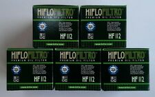 Kawasaki KX450F (2006 to 2015) HifloFiltro Oil Filter (HF112) x 5 Pack