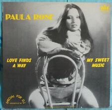 "PAULA ROSE - LOVE FINDS A WAY - LP 12"" SPECIAL EDITION DJ RARO"