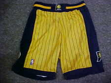 NBA Indiana Pacers 2002-2003 Game Worn Gold Reebok Basketball Shorts Size: 36