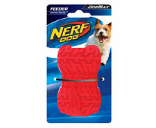 Brand New NERF Dog Feeder Toy ~ Medium Tyre INTERACTIVE Treat Dispensing RED