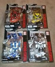 Transformers Combiner Wars Comic Packs Mirage Prowl Ironhide Sunstreaker Hasbro