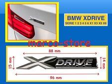 Logo fregio stemma Xdrive BMW serie 1 2 3 4 5 6 X1 X3 X5 X6 Z Emblema Scritta