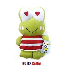 "Sanrio Kero Keroppi 7.5"" Plush Doll Toy - Love Heart Eyes"