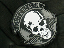 Metal Gear Solid 5: The Phantom Pain Outer Heaven Logo PVC Velcro Patch