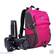Waterproof DSLR SLR Digital Photography Backpacks for Women for Nikon Camera Bag