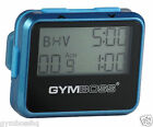 GYMBOSS INTERVAL TIMER AND STOPWATCH TEAL / BLUE METALLIC GLOSS SHIP FR CANADA