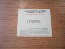 17/09/1994 Ticket: Manchester United v Liverpool [Adult Season Ticket Voucher Sp