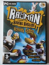 RAYMAN RAVING RABBIDS ACTIVITY CENTRE PC CD-ROM GAME brand new & sealed UK !