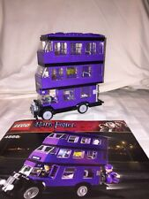 Lego Harry Potter Knight Bus Set #4866, Missing Conductor And Harry Figures