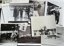 Aviation Pioneering Pilots, Racing, Stunt, Record Setting Signed Photographs .#5