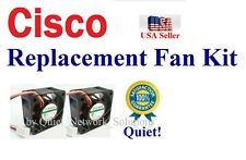 Quiet Version! Cisco SG200-50 Fan Kit 2x new NMB fans