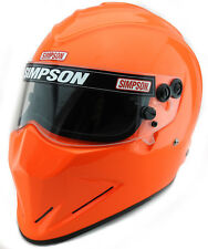 SIMPSON DIAMONDBACK HELMET SNELL SA2015 MSA HANS XS-XXL SAFETY ORANGE m6