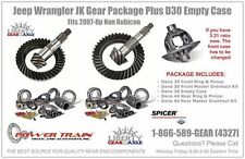 Jeep Wrangler JK 4.56 Gear Package Fits Non Rubicon 2007-Up Plus D30 Empty Case