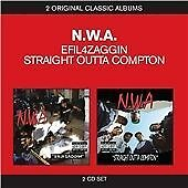 N.W.A - Efil4zaggin/Straight Outta Compton (2007)  2CD  NEW/SEALED  SPEEDYPOST