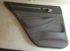 06-08 HONDA CIVIC REAR DRIVER SIDE INTERIOR DOOR TRIM PANEL