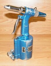 *UNTESTED* Central Pneumatic BLUE Air Hydraulic Riveter Stock No.167 - TAIWAN
