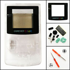 GBC Nintendo Game Boy Color Replacement Housing Shell GLASS Screen Lens Clear