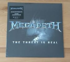 "Megadeth The Threat Is Real 2015 Euro 12"" Single New Sealed Heavy Thrash Metal"