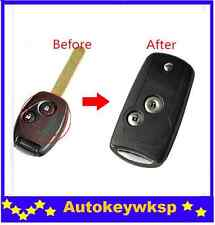 REMOTE 2 BUTTONS KEY SHELL CASE FOR HONDA S2000 Odyssey ACCORD JAZZ CRV  CIVIC