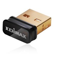 EDIMAX WLAN USB NANO STICK EW-7811UN Wireless Adapter, 150 Mbit/s 802.11b/g/n