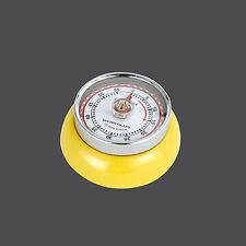 Zassenhaus Retro 'Speed' - Kitchen Timer with Magnet - 55 Mins - Yellow