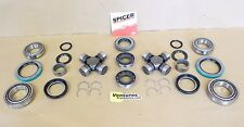 CHEVY K30 K3500 V30 DANA 60 FRONT SEAL BEARING AND U JOINT KIT OEM DANA SPICER