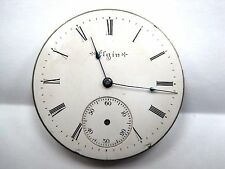 Antique Elgin Pocket Watch Movement 43 mm in size. #9761834.