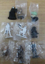 "LOT OF 9 STAR WARS CAKE TOPPERS, FIGURINES, 1.5"" - 2.5"""