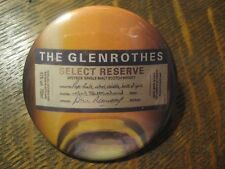 The Glenrothes Single Malt Scotch Whisky Scotland Advertisement Button Pin $20