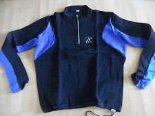 BLACK BEAR Funktionshirt Troyer Softshell schwarz blau Gr. L TOP kWi315