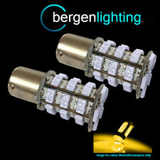 581 BAU15S PY21W XENON AMBER 48 SMD LED FRONT INDICATOR LIGHT BULBS FI202402