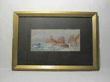 RARE ANCIENNE AQUARELLE GRACE H HASTIE 1917 ALTES AQUARELL OLD WATERCOLOUR