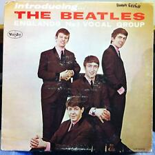 THE BEATLES introducing VG+ VJLP 1062 Vee Jay 64 Mono US Rainbow Label Brackets