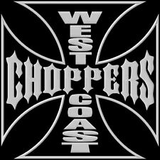 West Coast Choppers XL Parche bordado Thermo-Adhesiv iron-on patch