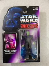 STAR WARS SHADOW OF THE EMPIRE PRINCE XIZOR WITH ENERGY BLADE SHIELDS