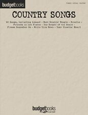 Country Songs Sheet Music Budget Books Piano Vocal Guitar Songbook NEW 000310833