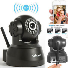 New 720P HD Wireless WiFi IP Camera Pan/Tilt Security P2P Network Webcam