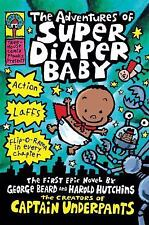The Adventures Of Super Diaper Baby (Captain Underpants)-ExLibrary