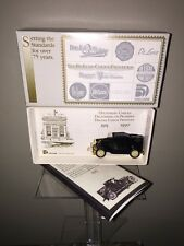 1927 Essex Coupe Conversion Deluxe Bank Checks 75th Anniversary Scale Model