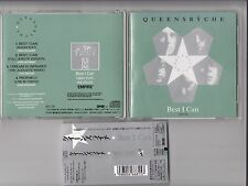 QUEENSRYCHE - BEST I CAN CD 1992 JAPAN OBI TOCP-7035 4 TRACK SINGLE