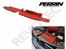 Red Perrin Radiator Shroud For 2008-2014 Subaru WRX STi 2008-2011 Impreza