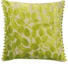 DESIGNERS GUILD FABRIC  CUT VELVET CUSHION/PILLOW COVER CALAGGIO APPLE 50X50CM